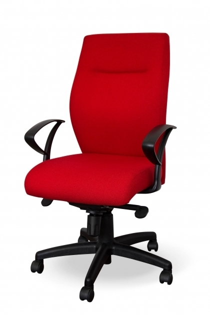 Red Office Furniture Chairs Design Photos 11