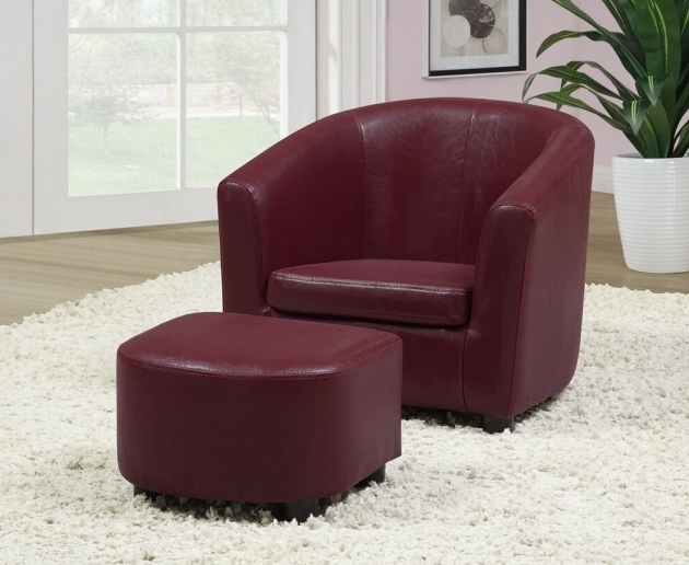 Small Leather Club Chair Attractive Accent Chairs Photos 05