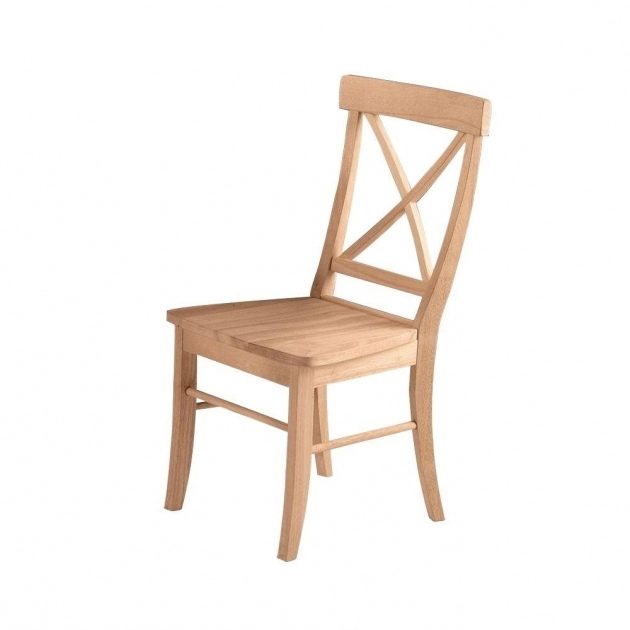 Unfinished Kitchen Chairs Chair Design