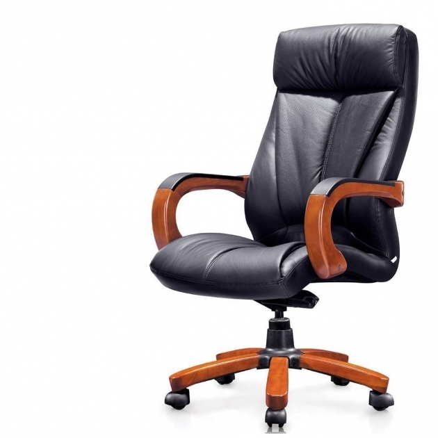 Wooden Leather Office Furniture Chairs Pictures 35