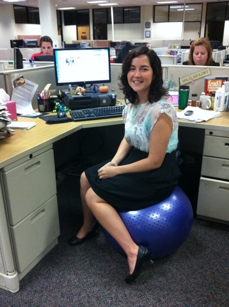 Balance Ball Office Chair Ergonomic Chair Ball Technogym Wellness Ball Active Sitting Photo 27