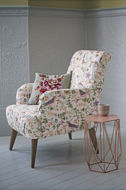 Best Vintage Patterned Club Chair Ideas Armchair Pictures 35