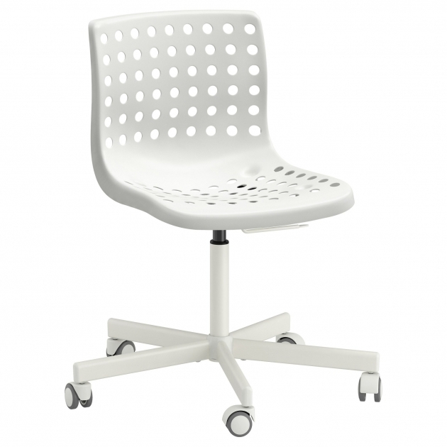 Cute Office Chairs Solid White Ikea Home Furniture Image 56