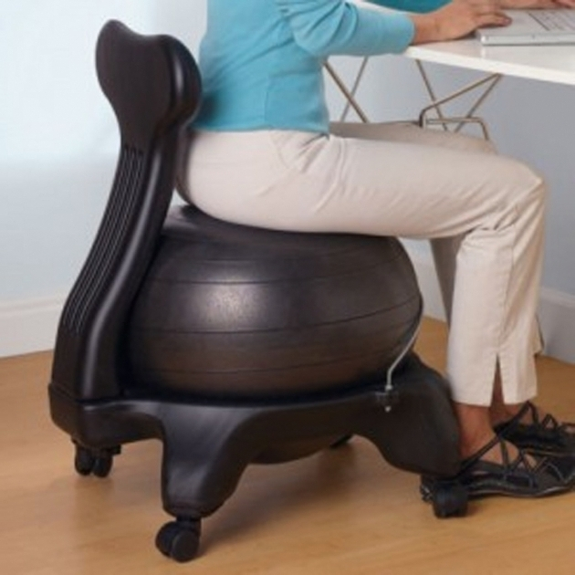 Elegant Stability Balance Ball Office Chair Images 26