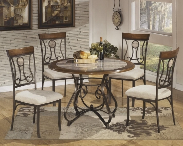 Wrought Iron Kitchen Chairs And Dining Room Ideas Images 15