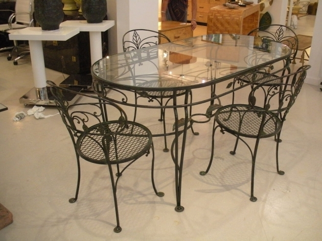 Wrought Iron Kitchen Chairs And Table Ideas Pictures 04