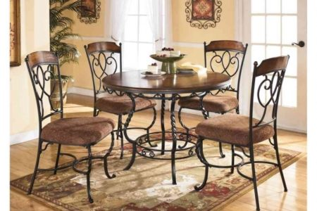 Wrought Iron Kitchen Chairs