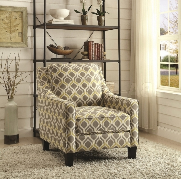 Yellow And Grey Accent Chair Pattern Photos 64