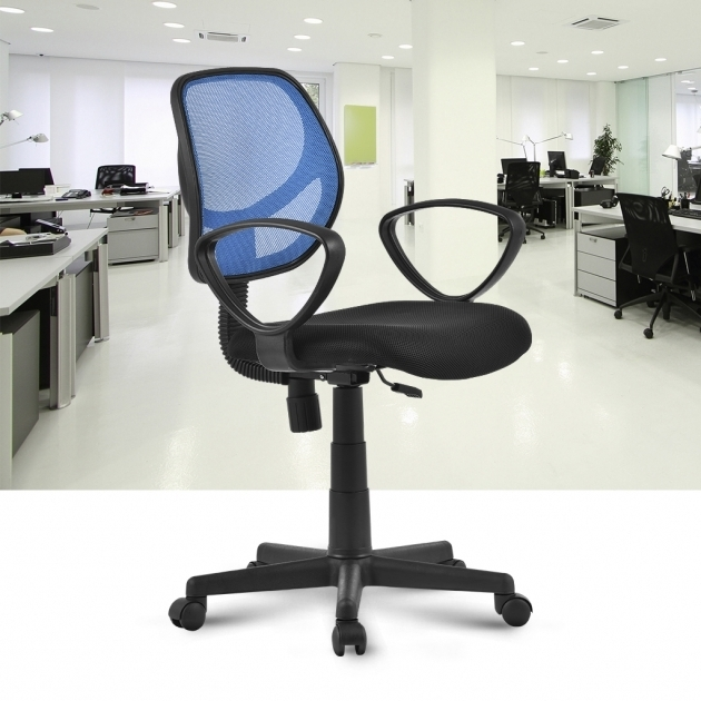 Mid Back Mesh ExecutiveOffice Swivel Chair Desk Padded Seat Image 26