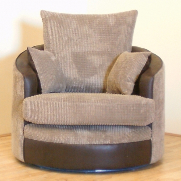 Small Snuggle Round Swivel Cuddle Chair Pic 97