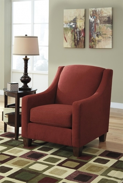 Maier Sienna Accent Ashley Red Chairs Furniture Pics 26