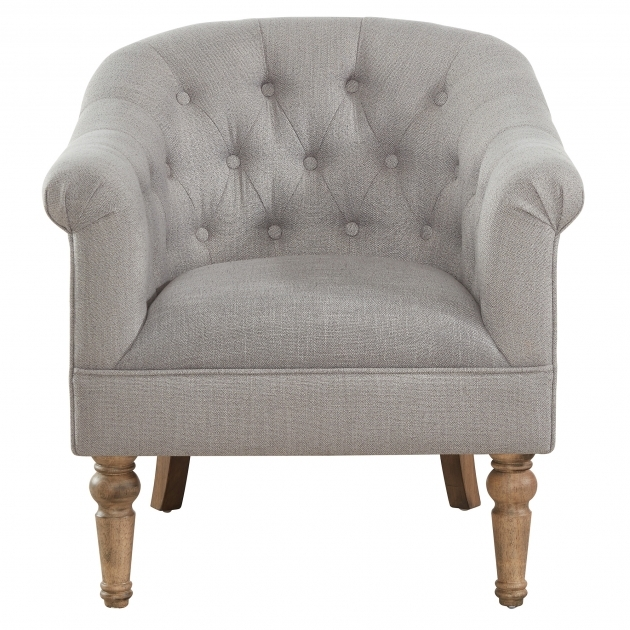Amazing Grey Accent Chair With Arms Picture