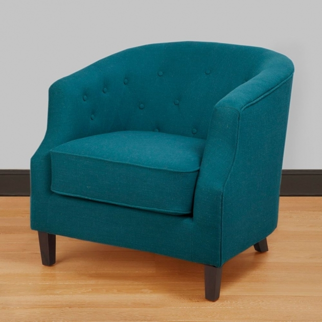 Amazing Peacock Blue Accent Chair Pics