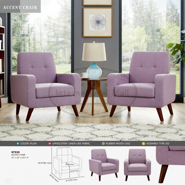Amazing Plum Accent Chair Images
