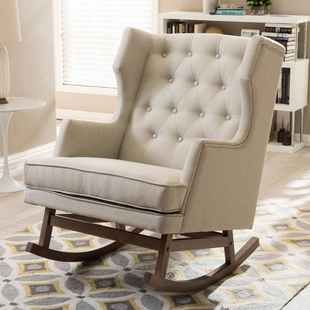 Amazing Rocking Accent Chairs Image