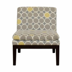 Yellow And White Accent Chairs