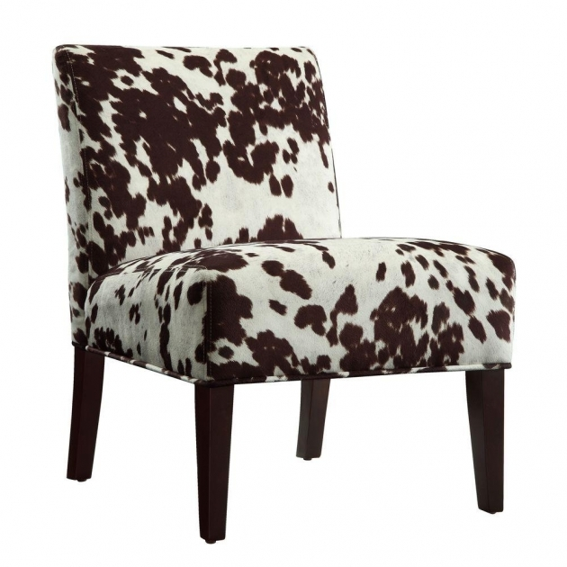 Astonishing Cowhide Accent Chair Image