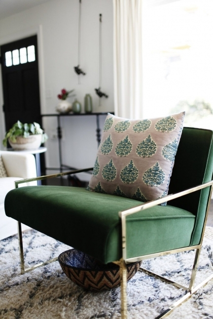 Astonishing Emerald Green Accent Chair Photo