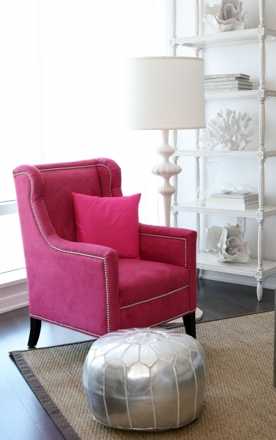 Astonishing Hot Pink Accent Chair Pic