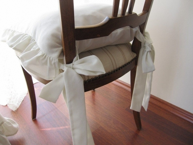 Astonishing Kitchen Chair Pads With Ties Image