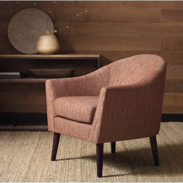 Astonishing Rust Accent Chair Images
