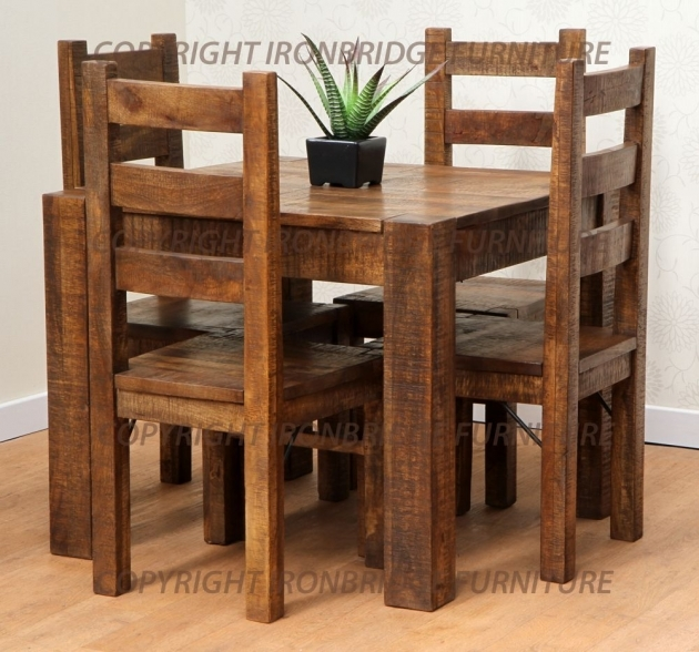 Astonishing Rustic Kitchen Tables And Chairs Pictures