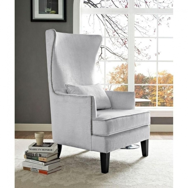 Astonishing Tall Back Accent Chairs Image