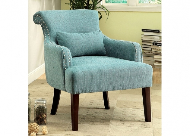 Attractive Aqua Accent Chair Pics