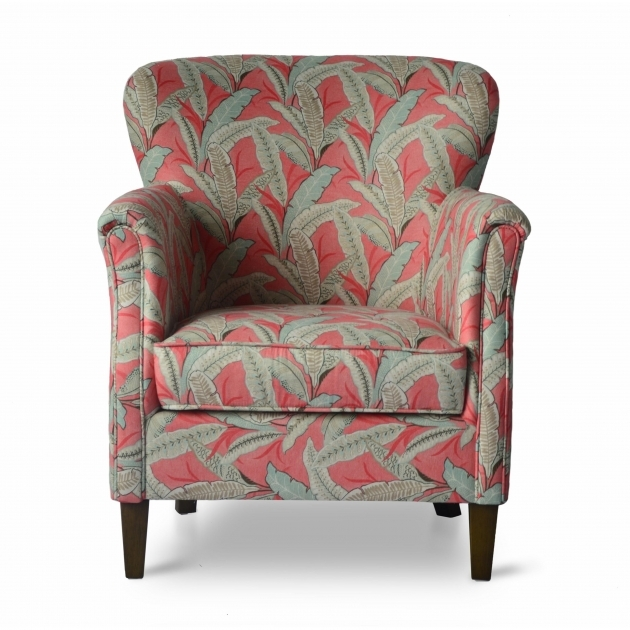 Attractive Coral Accent Chair Photo