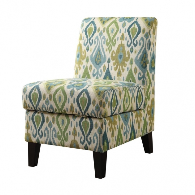 Attractive Emerald Green Accent Chair Pic