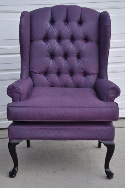 Attractive Purple Accent Chairs Sale Images