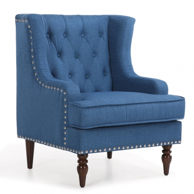 Attractive Royal Blue Accent Chair Pics