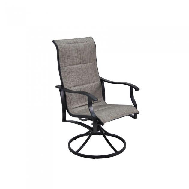 Attractive Sling Swivel Rocker Patio Chairs Pics