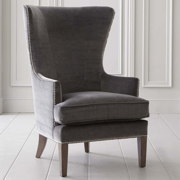 Attractive Tall Back Accent Chairs Picture