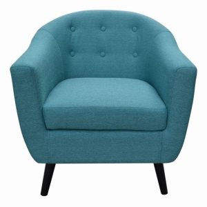 Teal Blue Accent Chair