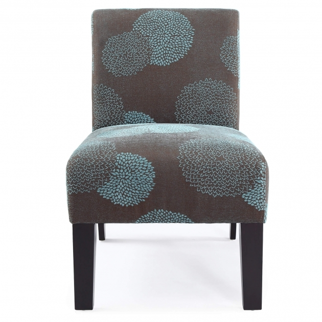 Attractive Teal Blue Accent Chair Pic