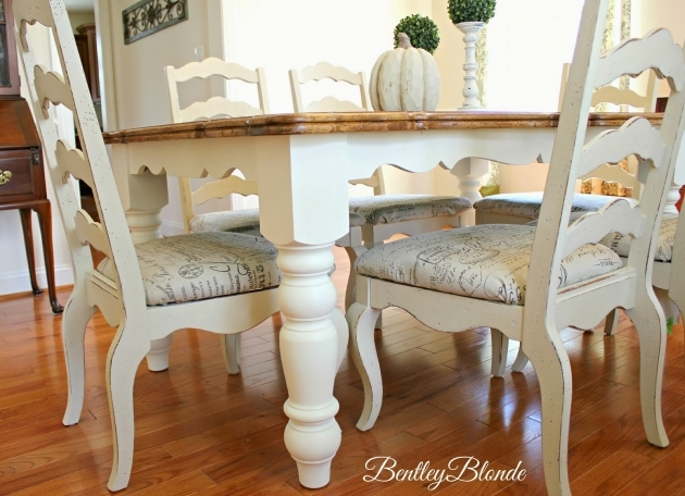 Awesome Chalk Paint Kitchen Table And Chairs Pic