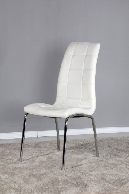 Awesome Cheap White Kitchen Chairs Photo