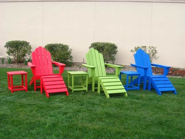 Awesome Colorful Patio Chairs Photos