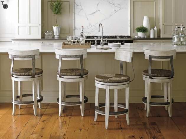 Awesome Kitchen Island Chairs With Backs Photos