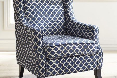 Navy Blue Accent Chairs