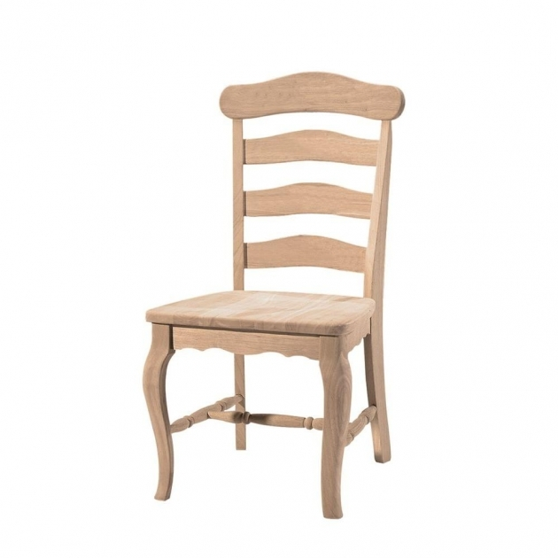 Awesome Wooden Ladder Back Kitchen Chairs Image