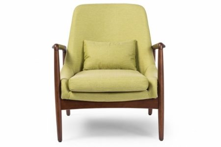 Green Accent Chair With Arms