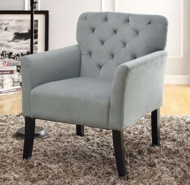 Best Light Gray Accent Chairs Picture