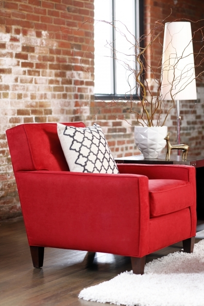 Best Red Accent Chair With Arms Image