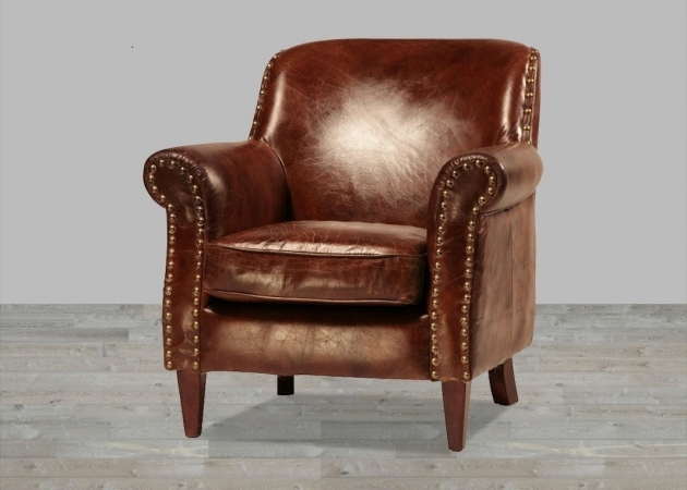 Best Small Leather Accent Chairs Images