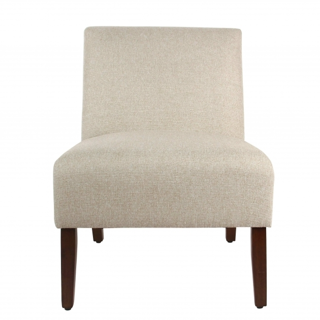 Classy Armless Accent Chair Slipcover Image