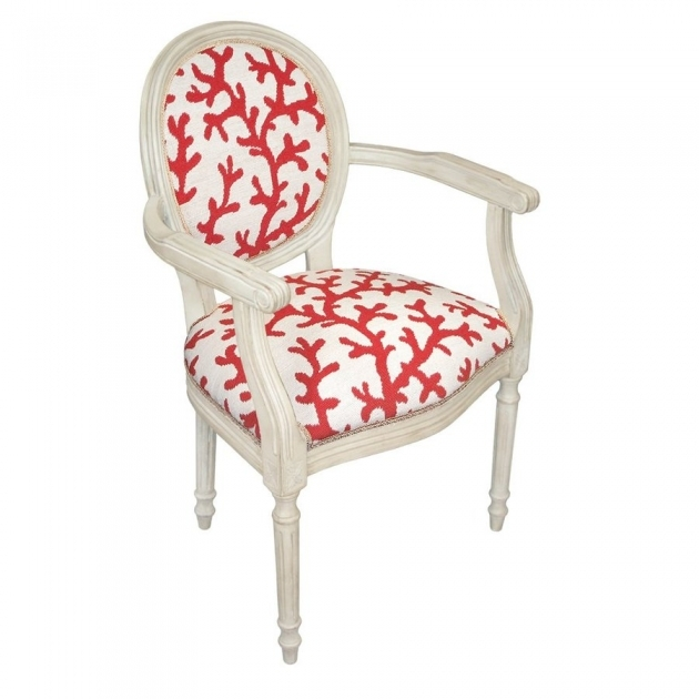 Classy Coral Accent Chair Photos