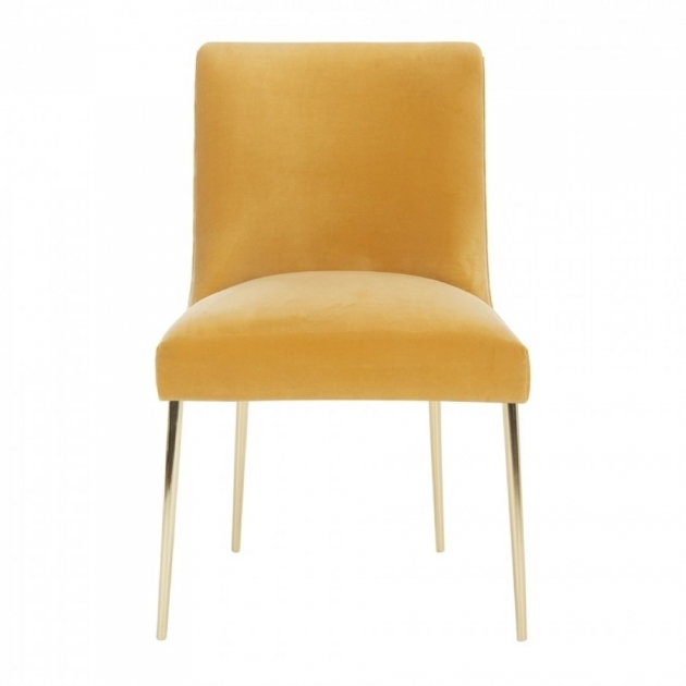 Classy Mustard Accent Chair Picture