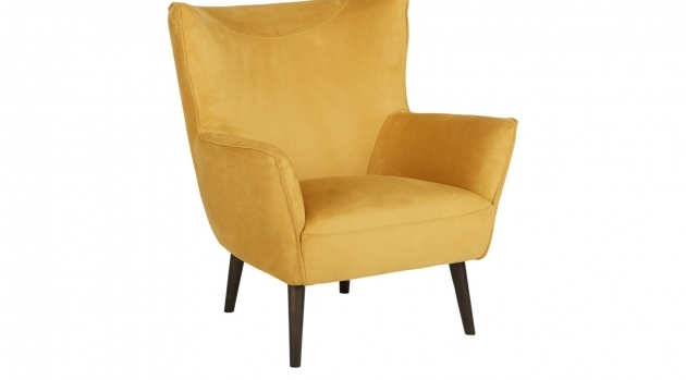 Classy Mustard Yellow Accent Chair Pictures